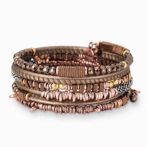 Stella & Dot Jarne Coil Bracelet